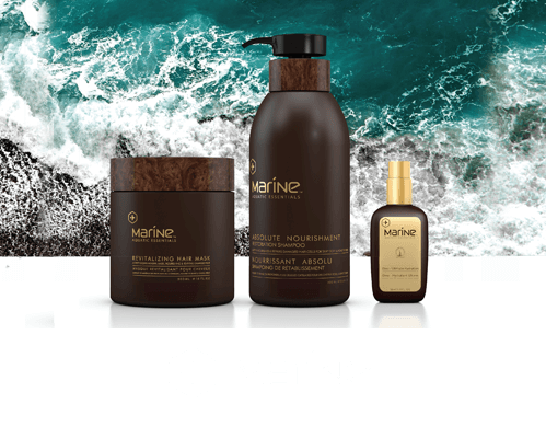 MARINE  hair treatment products